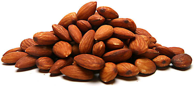 Roast Unsalted Almonds
