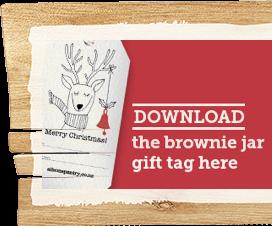 Download the Brownie Jar Gift Tag Here