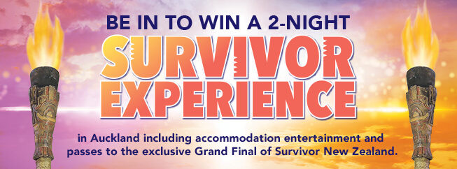 Be in to win a 2-night survivor experience