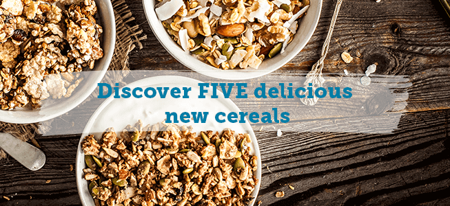 Discover Five Delicious New Cereals